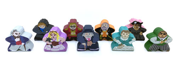 Kill Doctor Lucky: Meeples (9-Piece Set) board game