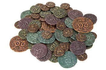 Agra: Metal Coins (69-piece set)
