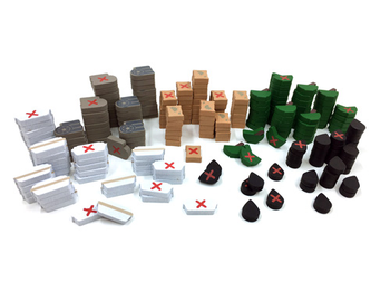 220-Piece Set of Small 2-Sided Resources for Indonesia - estimated ship date early July 2020