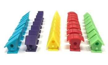 Wingspan: 3D Printed Bird Houses board game