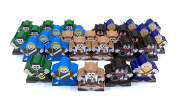 Champions of Midgard: Character Meeples (30 pcs)