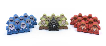 Character Meeples for Codenames (26 pcs)
