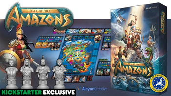 Rise of the Amazons board game