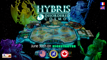 Hybris - Disordered Cosmos board game