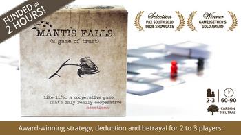 Mantis Falls board game