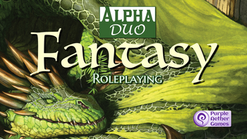 Alpha Duo Fantasy Roleplaying board game