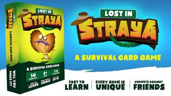 Lost In Straya board game