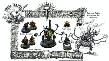 Iron Hammer Miniatures: The Mighty Gnomish War Engine board game