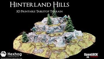 Hexhog Tabletops: Hinterland Hills board game