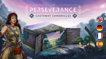 Perseverance: Castaway Chronicles board game