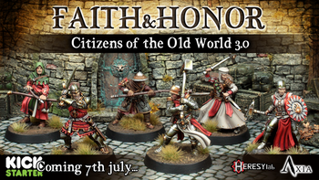 Citizens: Faith and Honor 28mm Resin Miniatures board game
