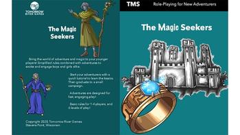 The Magic Seekers: Role Playing Game for Young Adventurers board game