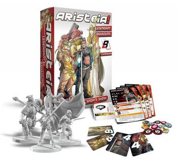 Aristeia! Legendary Bahadurs board game