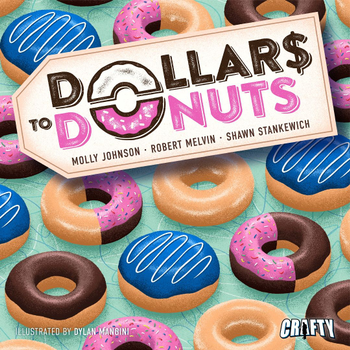 Dollars to Donuts board game