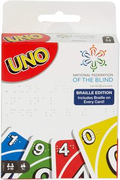 Uno: Braille Edition board game