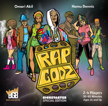 Rap Godz: Kickstarter Special Edition board game