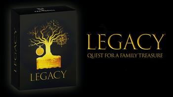 LEGACY: Quest for a Family Treasure - Escape box board game