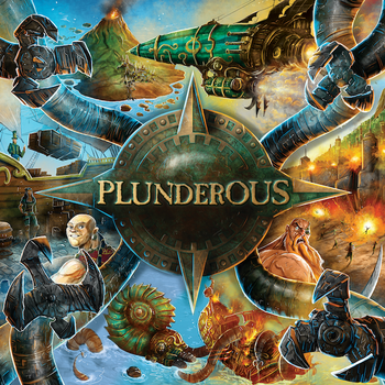 Plunderous board game