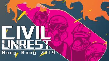 Civil Unrest Hong Kong 2019 board game