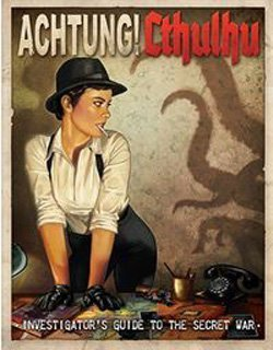 Achtung! Cthulhu - Investigator's Guide To The Secret War board game