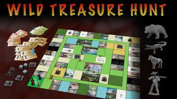 Wild Treasure Hunt board game