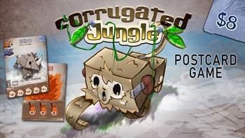 Corrugated Jungle board game