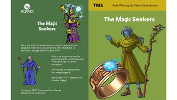 Magic Seekers: Role Playing Game (RPG) for Young Adventurers board game