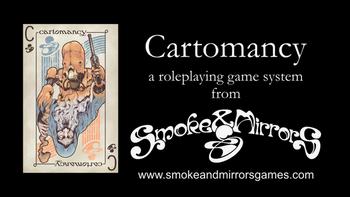 Cartomancy board game