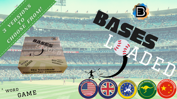 Bases Loaded: A Word Game That's NOT About Baseball board game