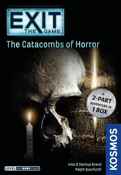 Exit: The Game - The Catacombs of Horror board game