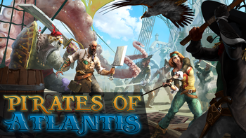 Pirates of Atlantis board game