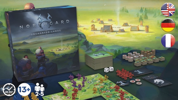 Northgard: Uncharted Lands board game