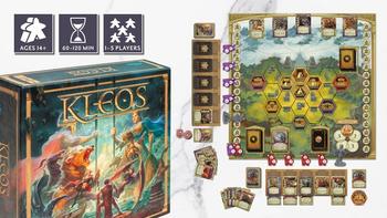 Kleos board game