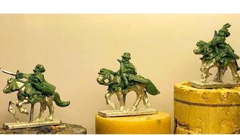 10mm Polish-Lithuanian Lisowczycy (Light Cavalry) board game