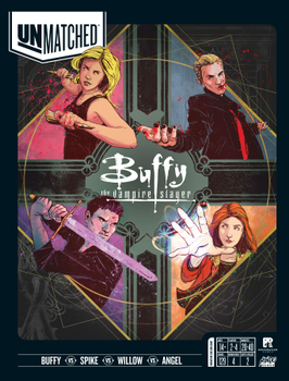 Unmatched: Buffy the Vampire Slayer board game