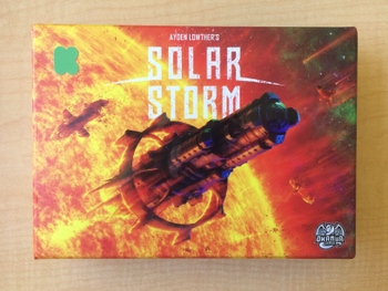 Solar Storm: Deluxe Edition board game
