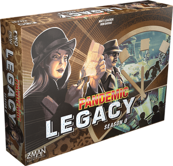 Pandemic Legacy: Season 0 board game