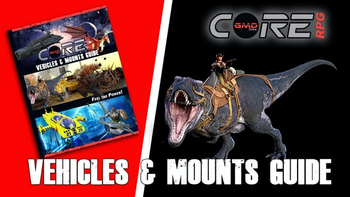 CORE RPG: Vehicles & Mounts Guide board game