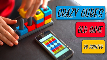 Crazy Cubes board game