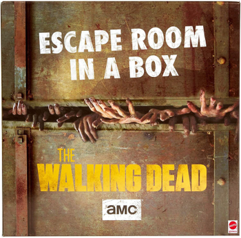 Escape Room in a Box: The Walking Dead board game