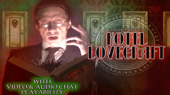 """Cthulhu Parlour's """"Hotel Lovecraft"""" board game"""