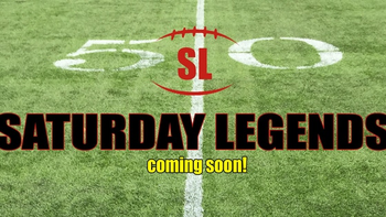 Saturday Legends - college football boardgame board game