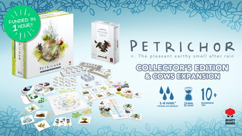 Petrichor: Collector's Edition and Cows Expansion board game