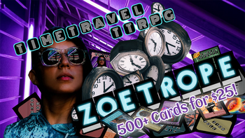 ZOETROPE | the Card-Based Time Travel TTRPG | board game