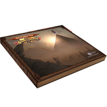 HEXplore It: Return to The Sands of Shurax board game