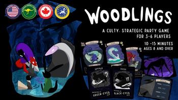 Woodlings board game