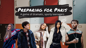 Preparing for Paris: a Tabletop Roleplaying Game board game