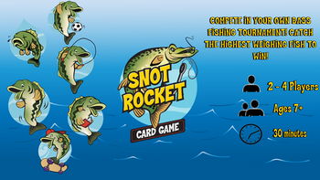 Snot Rocket Card Game board game
