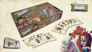 Super-Awesome-Dungeon-Crawler! Table top Card Game board game