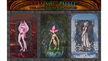 Arammu-Phael: Fantasy 3D Printable Tabletop Miniatures .STL board game